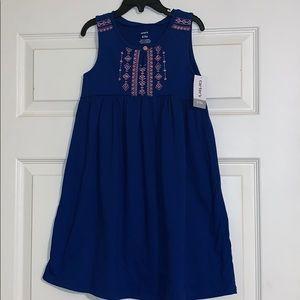 Carters Girls 6/6x Blue Sundress